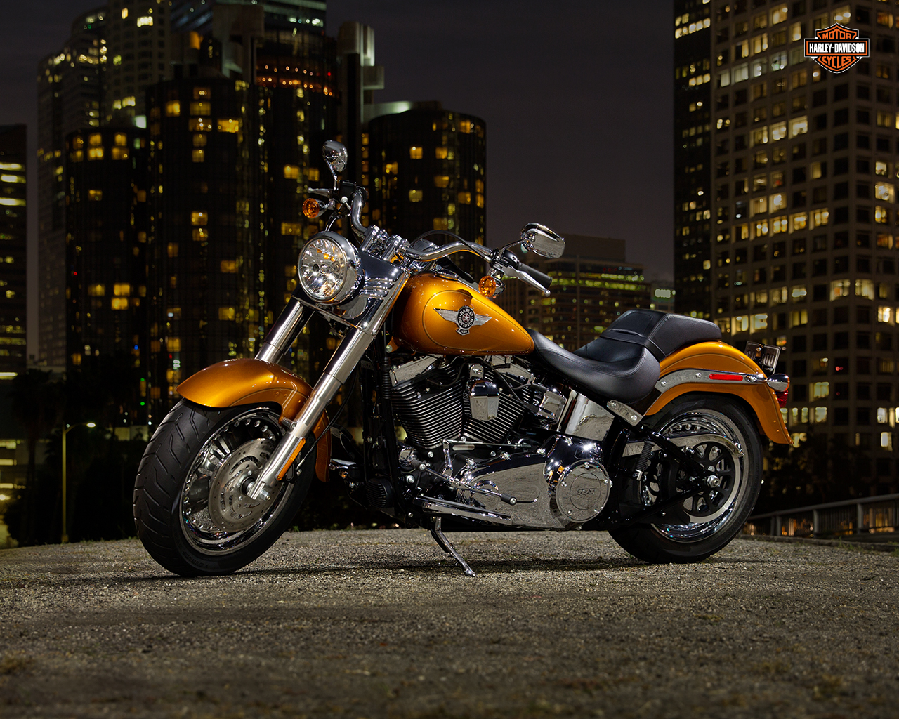 harley-davidson wallpaper (harley-davidson fat-boy)
