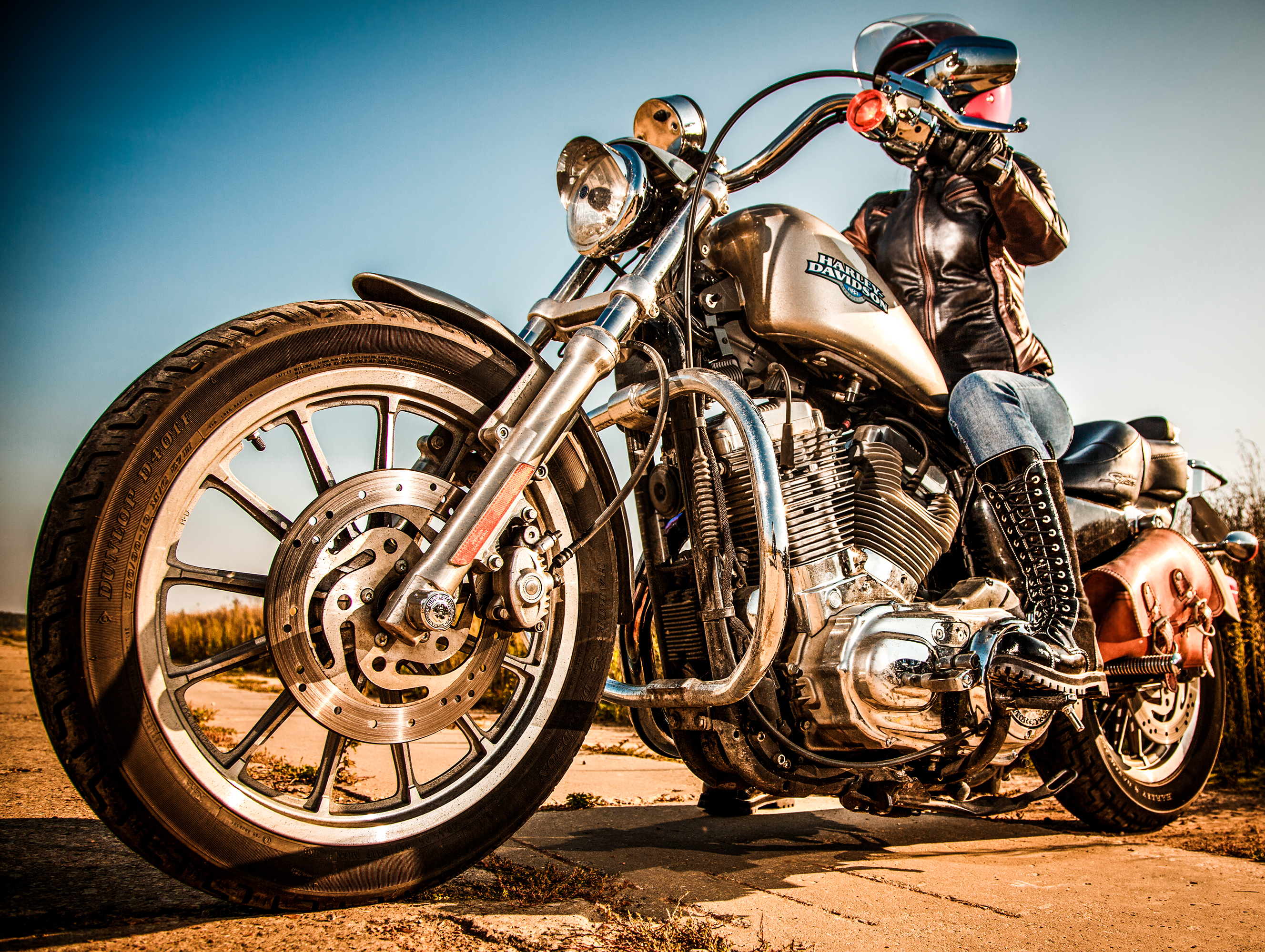 harley-davidson sportster - review and photos