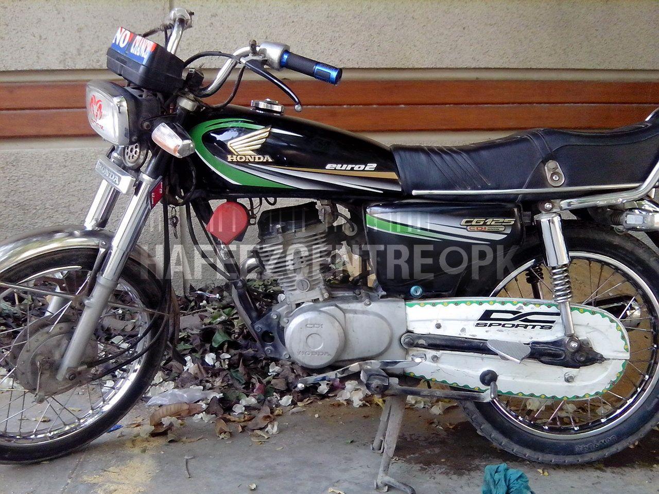 HONDA 125 CG black