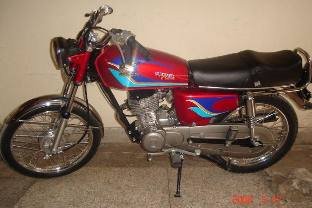HONDA 125 CG brown