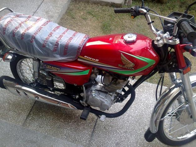 HONDA 125 CG red