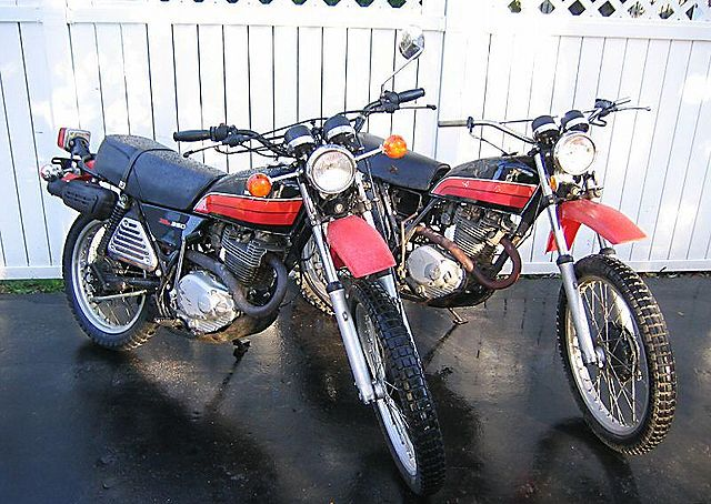 HONDA 350 black