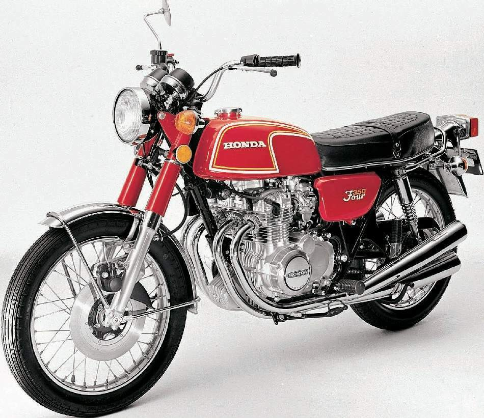 HONDA 350 red