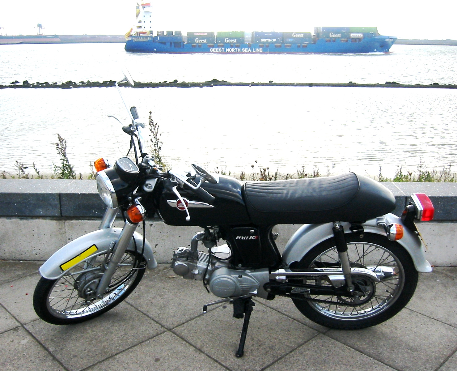 HONDA 50 BENLY brown