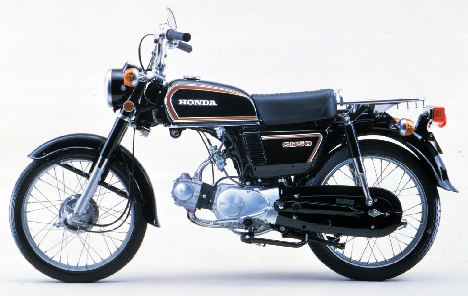 HONDA 50 BENLY interior