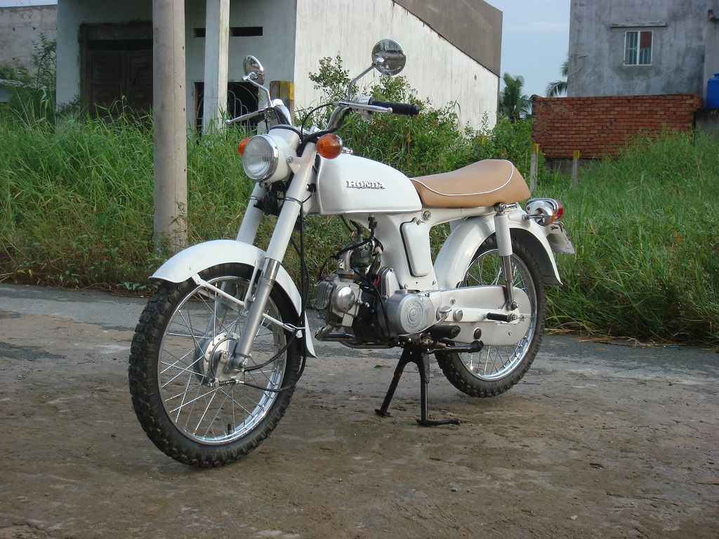 HONDA 50 BENLY white
