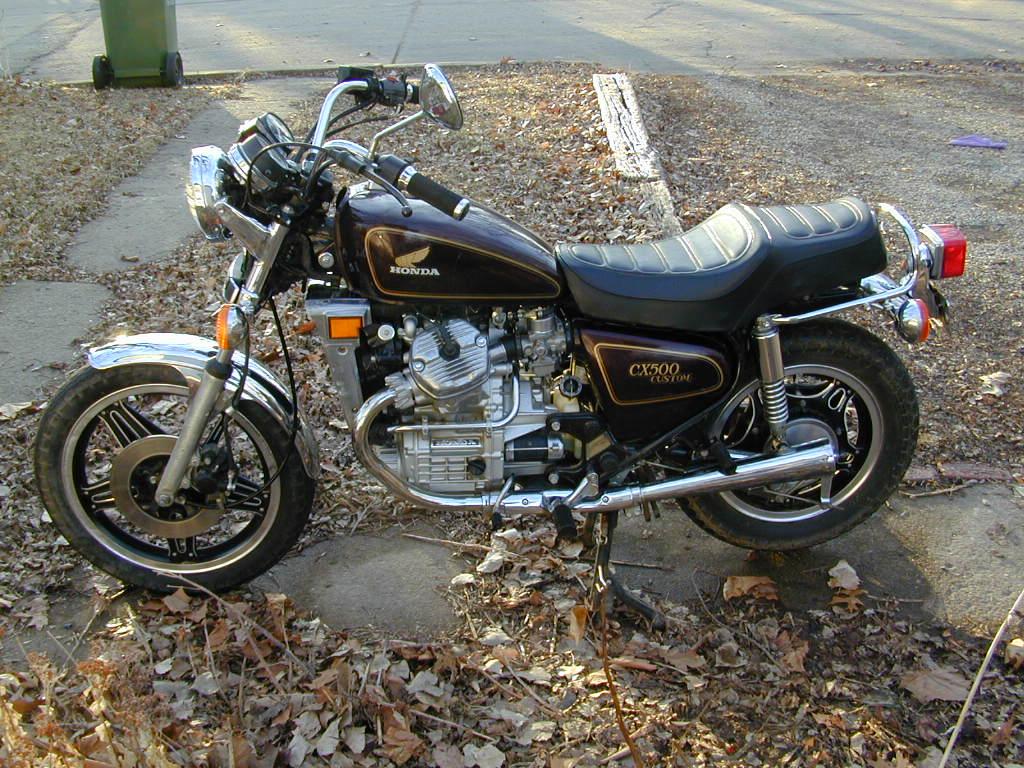 HONDA 500 CX