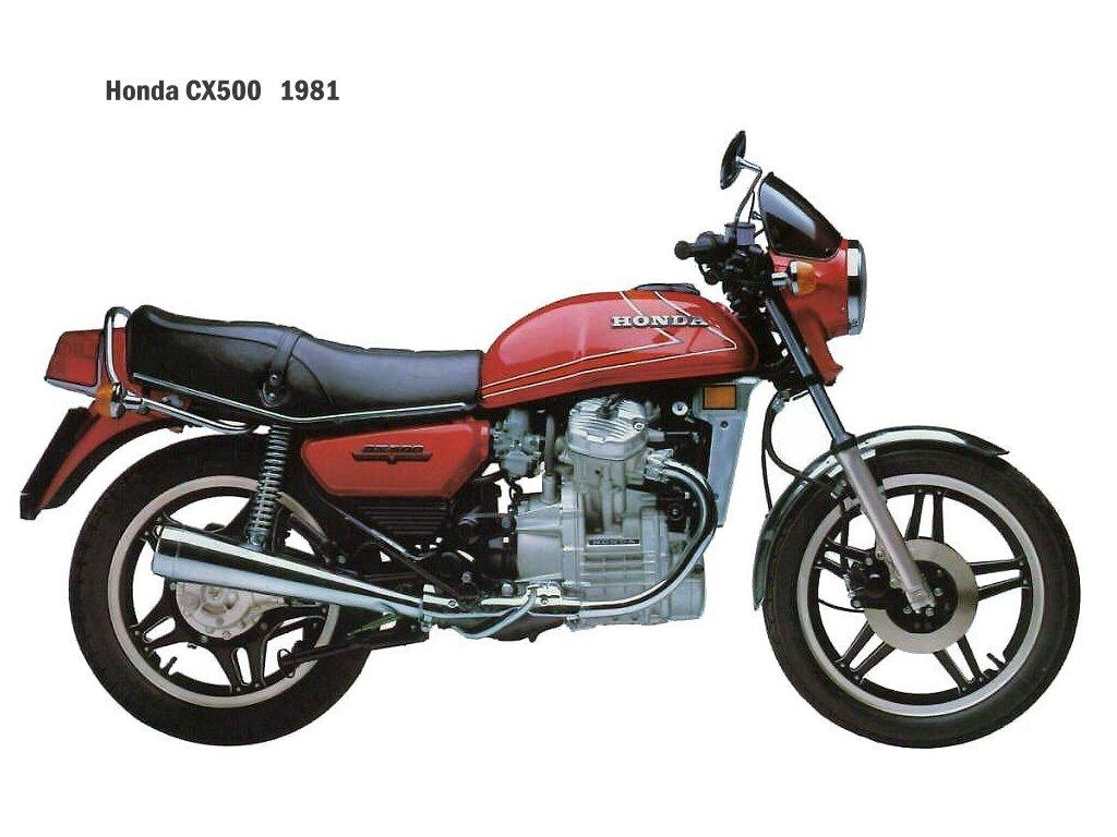HONDA 500 CX silver