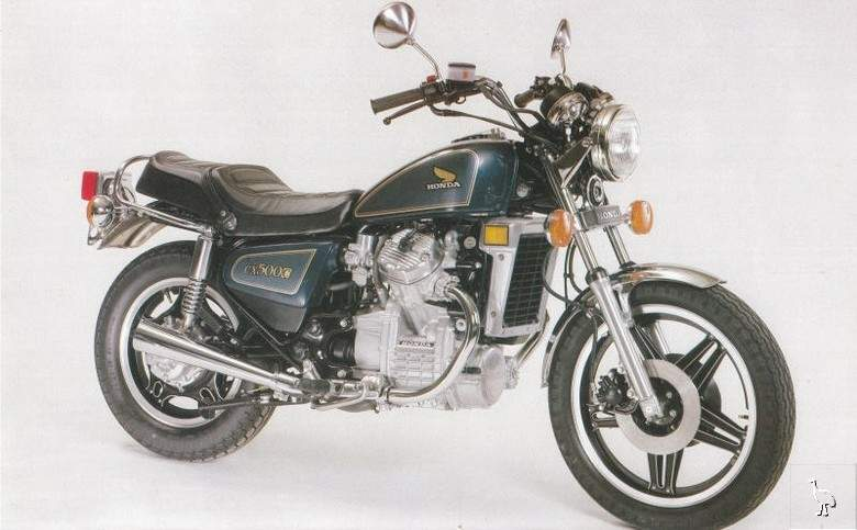 HONDA 500 CX white