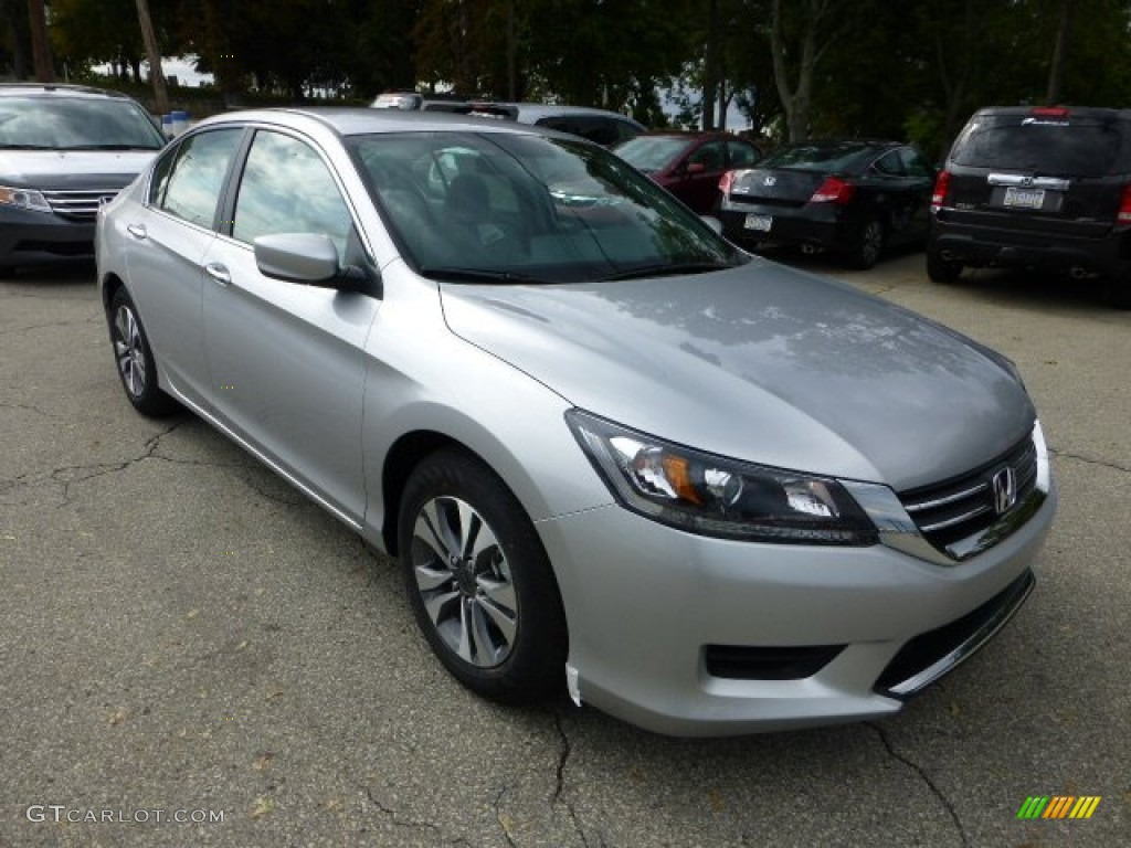 HONDA ACCORD silver