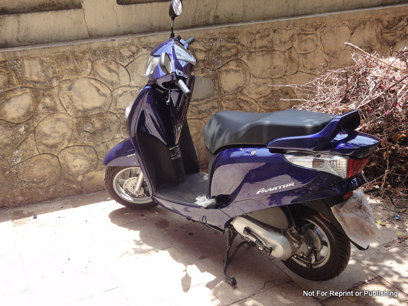 HONDA AVIATOR blue
