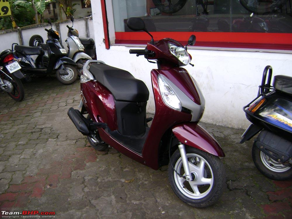 HONDA AVIATOR red