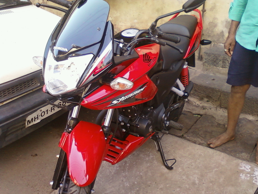 HONDA CB F red