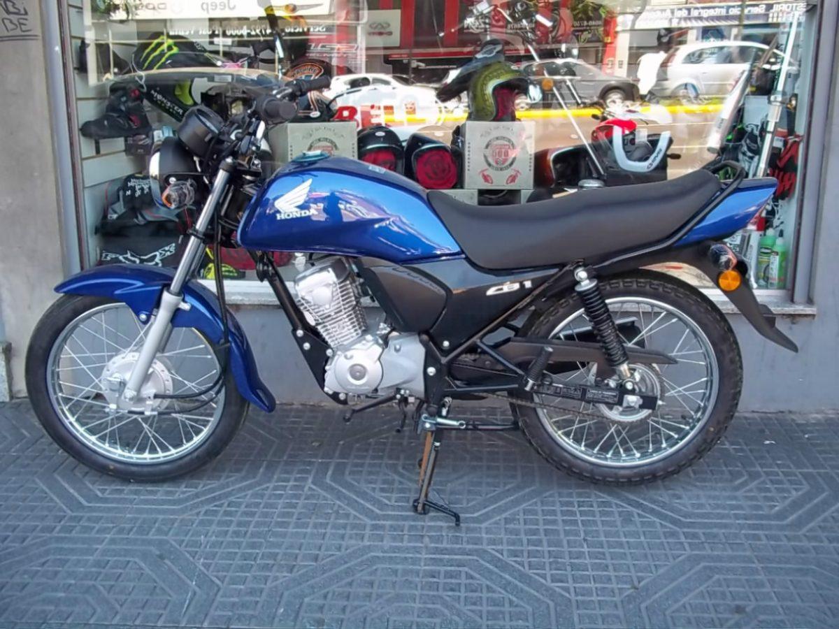 HONDA CB1 blue