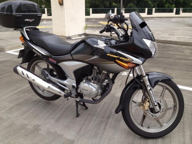HONDA CBF 150 white