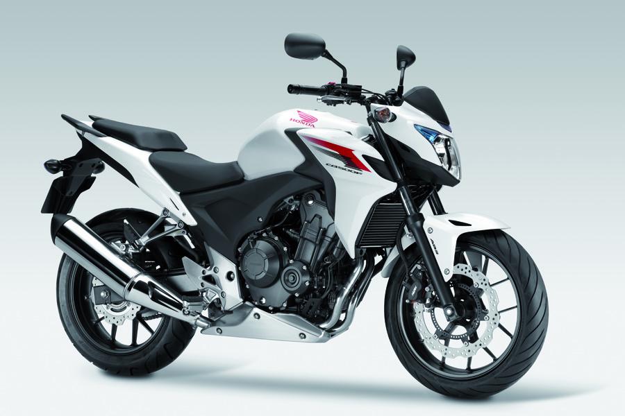 HONDA CBF 500 white
