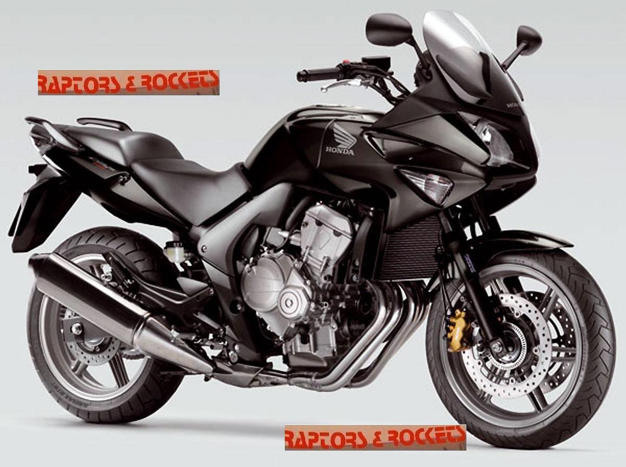 HONDA CBF 600 black