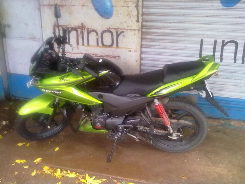 HONDA CBF125 green
