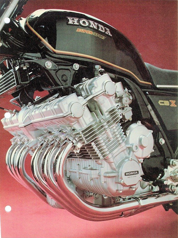 HONDA CBX engine
