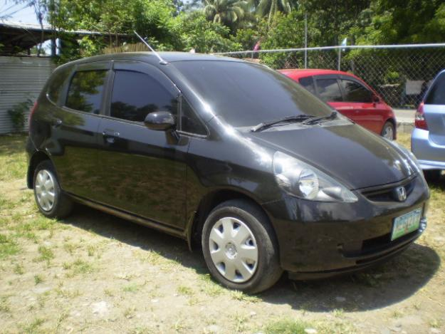 HONDA CITY FIT black