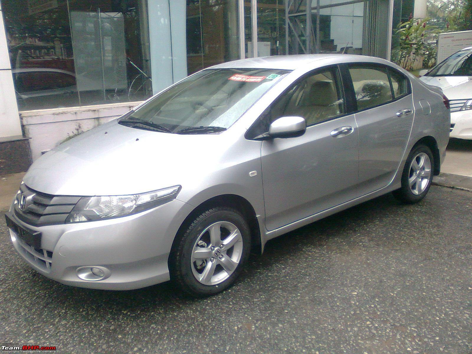 HONDA CITY FIT silver