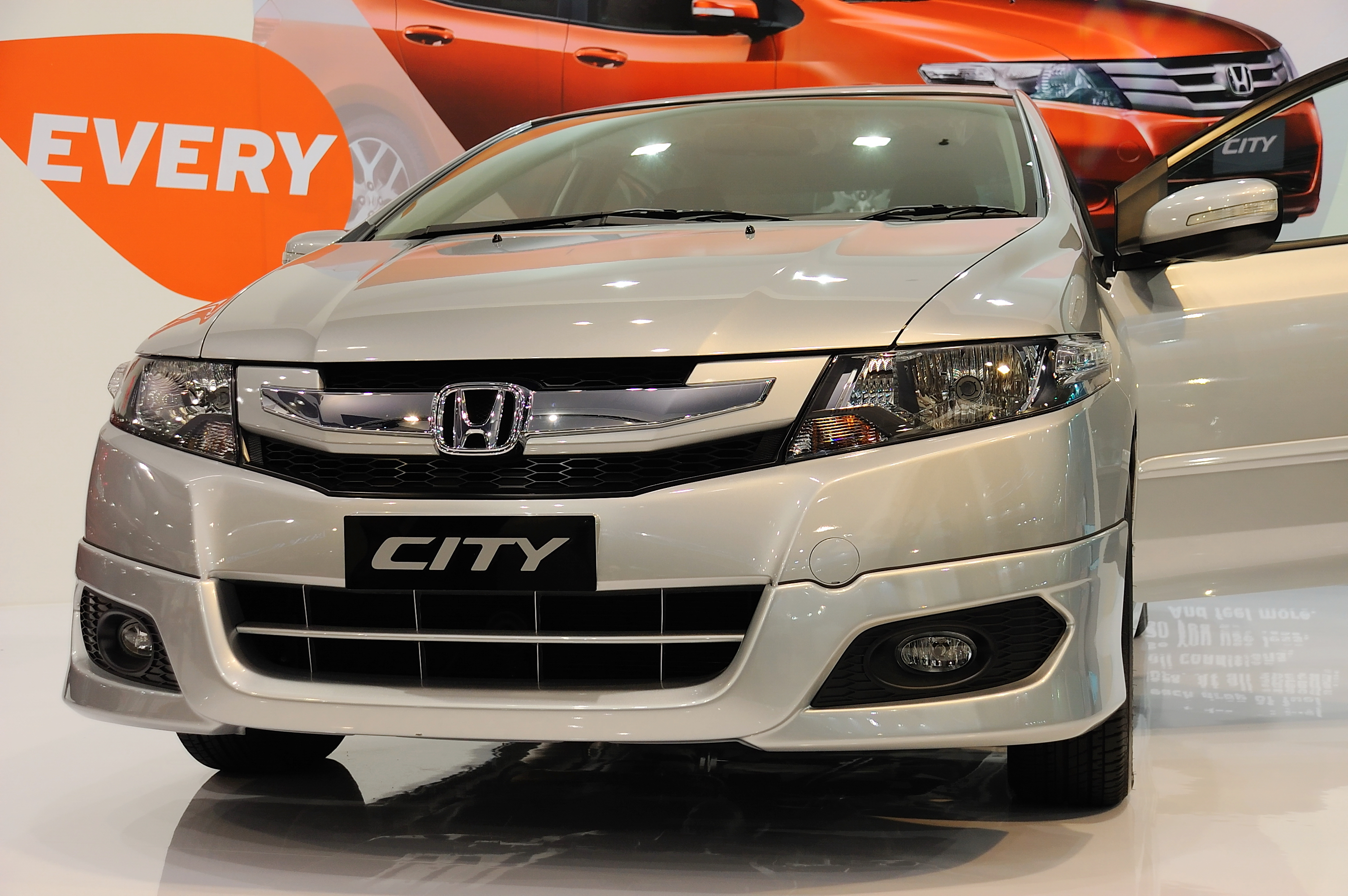 HONDA CITY ON DISPLAY BY ITANIUM
