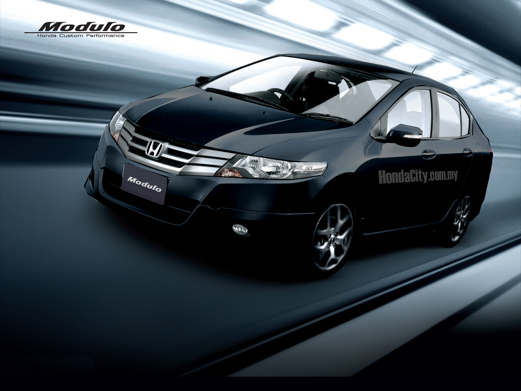 HONDA CITY black