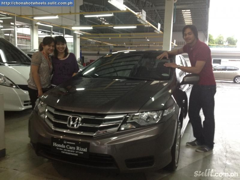 HONDA CITY brown