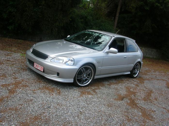 HONDA CIVIC 1.4 brown