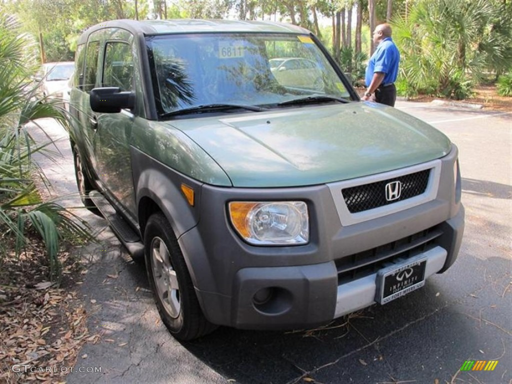 HONDA ELEMENT AWD green