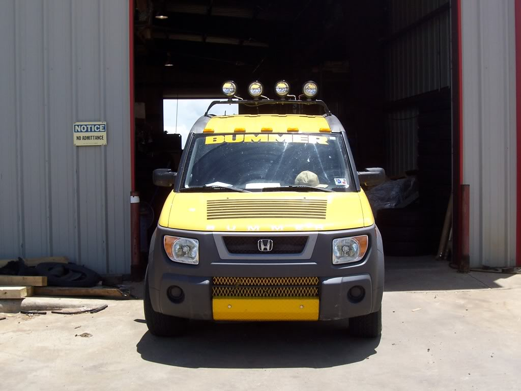HONDA ELEMENT AWD