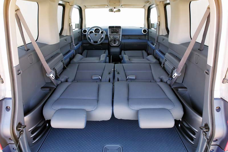 HONDA ELEMENT blue