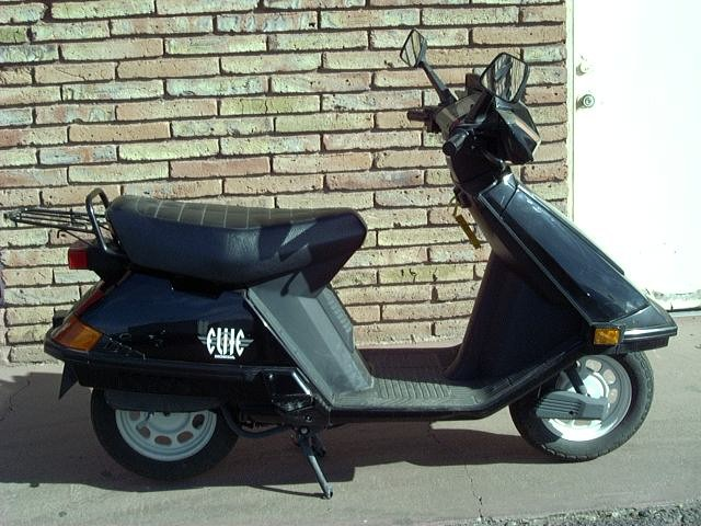 HONDA ELITE 80 black