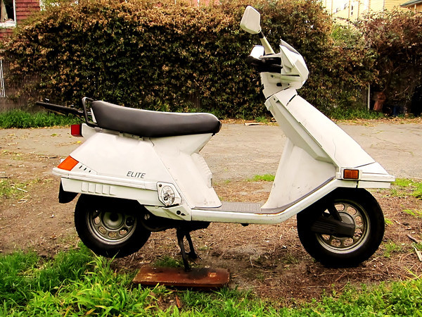 HONDA ELITE 80 brown