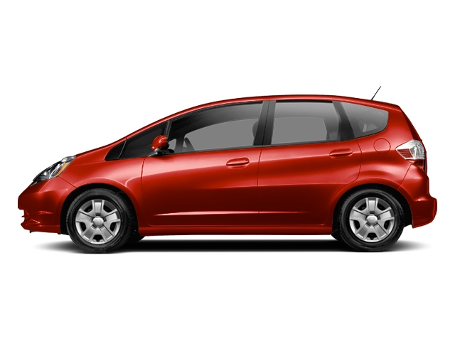 HONDA FIT EX red