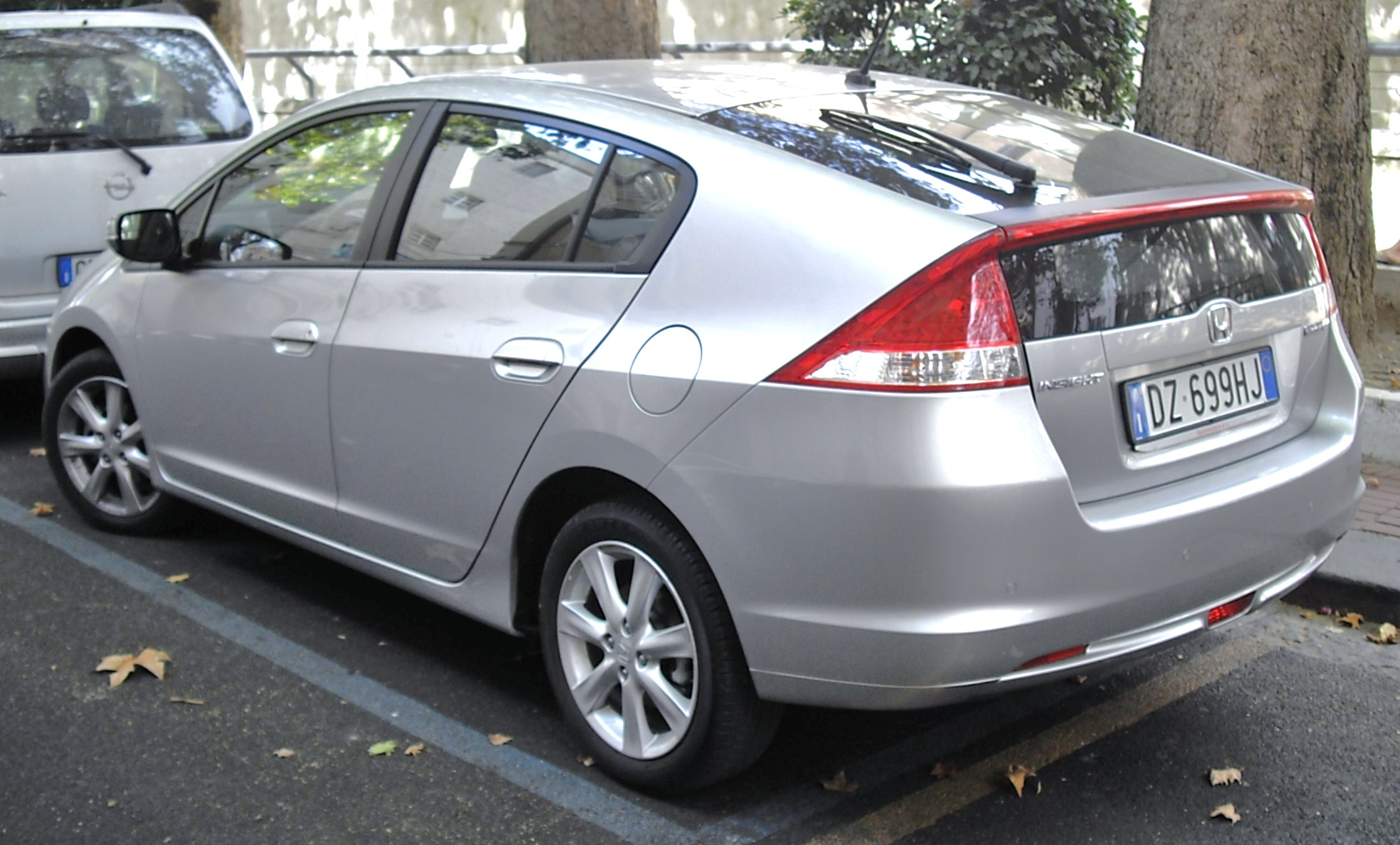 HONDA INSIGHT silver