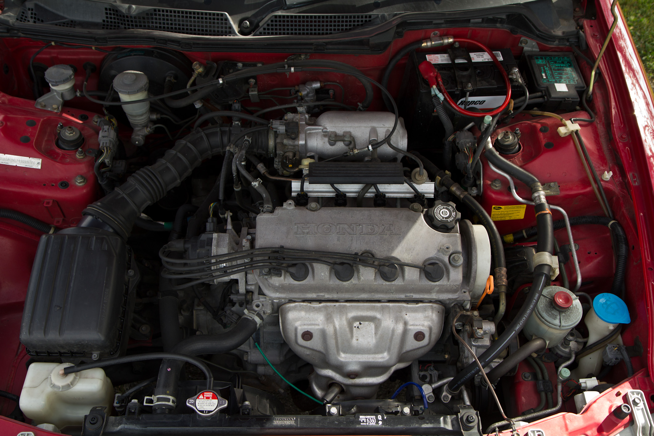 HONDA INTEGRA 1.6 engine