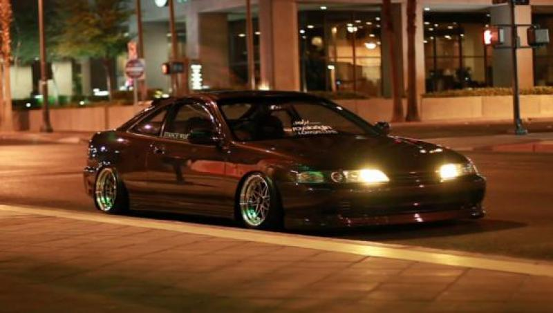 HONDA INTEGRA brown