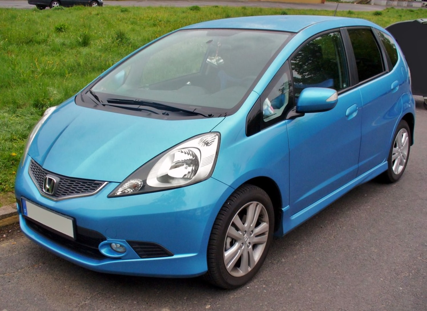 HONDA JAZZ blue