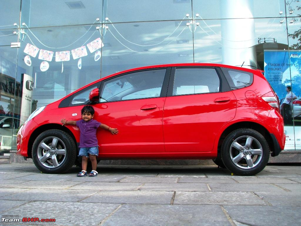 HONDA JAZZ red