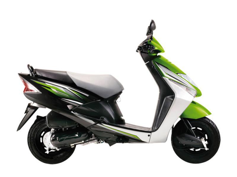 HONDA LEAD 100 green