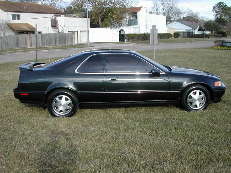 HONDA LEGEND COUPE green