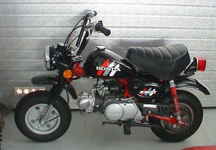 HONDA MONKEY 50 brown