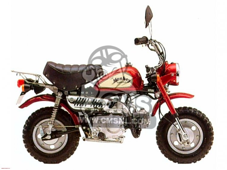 HONDA MONKEY 50 green