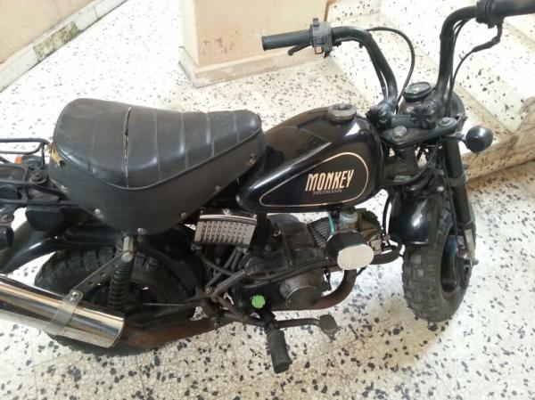 HONDA MONKEY black
