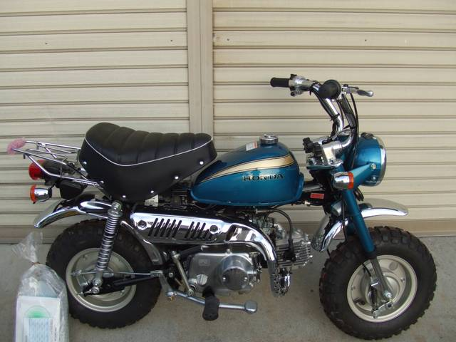 HONDA MONKEY blue