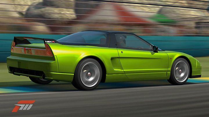 HONDA NSX (NA2) green