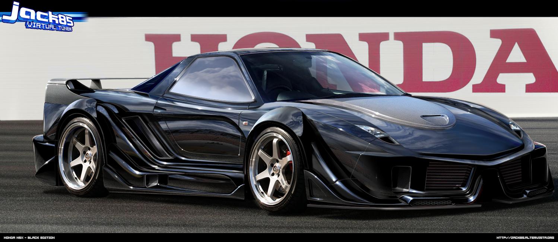 HONDA NSX black