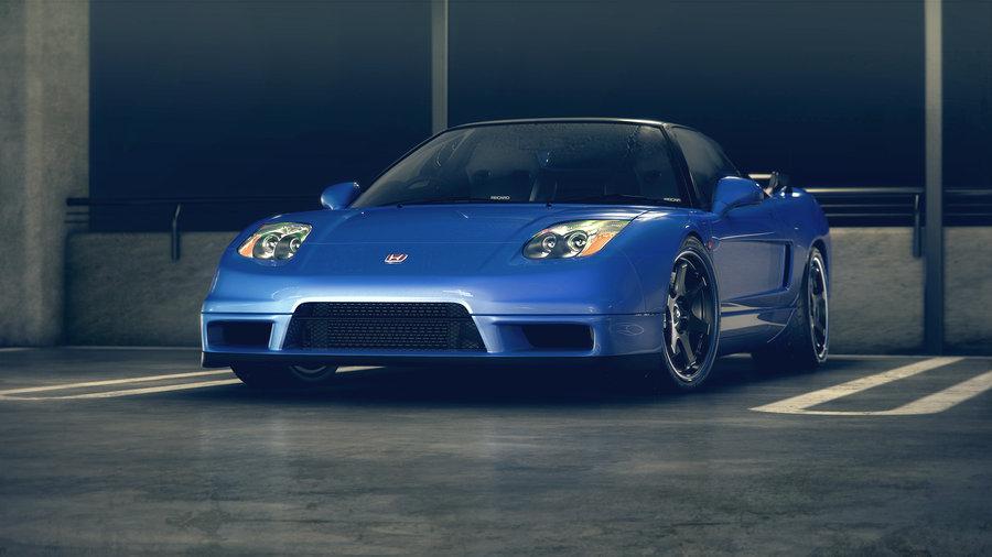 HONDA NSX blue