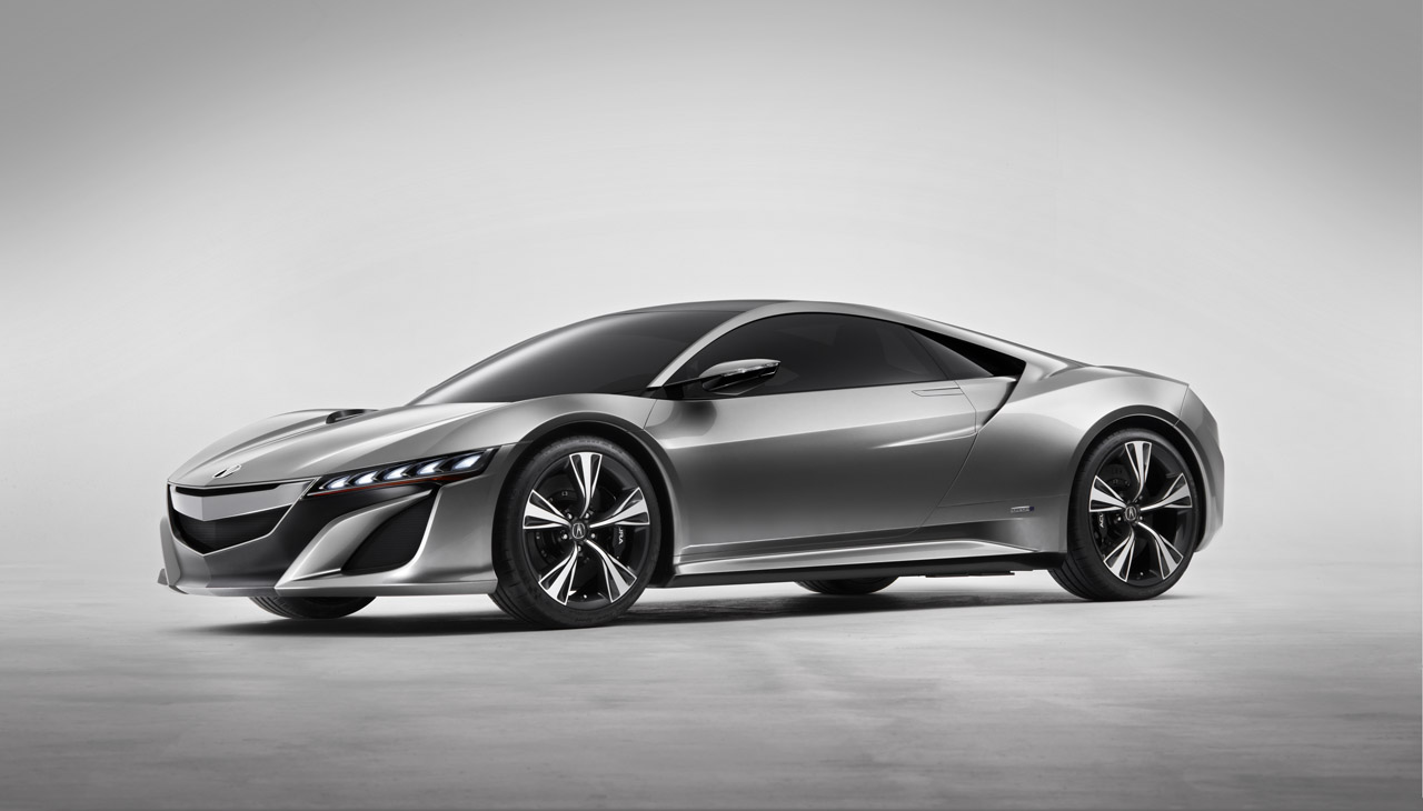 HONDA NSX brown